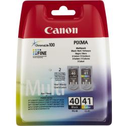 Картридж Canon PG-40Bk/CL-41 Black/Color (0615B043)