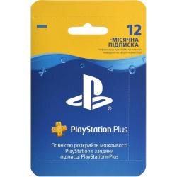 Підписка PlayStation Plus на 12 місяців (9809944)
