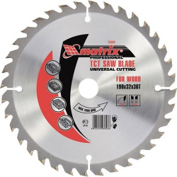Пильний диск по дереву 160 х 32 мм, 24 зуба,  MTX PROFESSIONAL (MIRI732499)