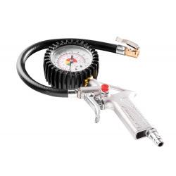 Пистолет NEO для подкачивания шин з манометром O 63мм (12-546)