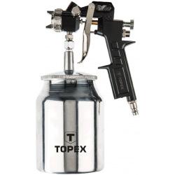 Пистолет-распылитель Topex, нижний бачок 1.0 л, сопло 1.5 мм (75M206)