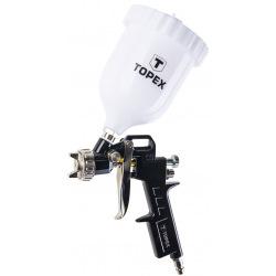Пистолет-распылитель Topex, верхний бачок 0.6 л, сопло 1.5 мм (75M201)
