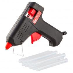 Пистолет клеевой Top Tools электрический, 8 мм, 10Вт (42E581)