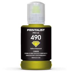 Чернила PRINTALIST GI-490 Yellow для Canon 140г (PL490Y)