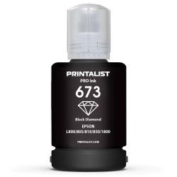 Чернила PRINTALIST 673 Black для Epson 140г (PL673B)