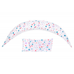 Подушка для беременных и для кормления Nuvita 10 в 1 DreamWizard Белая (NV7100WHITE)