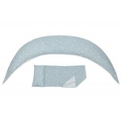 Подушка для вагітних і для годування Nuvita 10 в 1 DreamWizard Сіра NV7100Gray (NV7100GRAY)