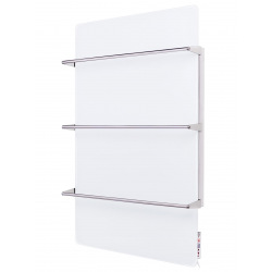 Полотенцесушитель стеклянный Sun Way с терморегулятором SWGТ-RA600-9003 (SWGT-RA600-9003)