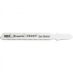 Полотна для електролобзика по металу T118A, 50 х 1.2 мм, HSS, 3 шт,  MTX PROFESSIONAL (MIRI782079)