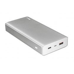 Power Bank - Повербанк Trust Omni Plus Metal Powerbank 20.000 mAh USB-C QC3.0 Silver (22790)
