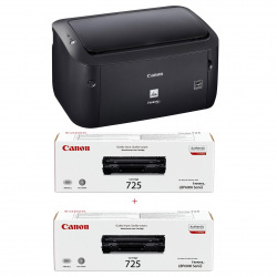 Принтер А4 Canon i-SENSYS LBP6030B (бандл с 2 картриджами) (8468B042)