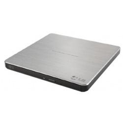 Привод Hitachi-LG GP60NS60 DVD+-R/RW USB2.0 EXT Ret Ultra Slim Silver (GP60NS60)