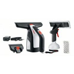 Порохотяг Bosch вакуумний GlassVac для миття вікон, 2Аг, до 30хв, 0.7кг, пульверизатор, комплект насадок (0.600.8B7.000)