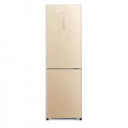 Холодильник Hitachi R-BG410PUC6XGBE нижн.мороз./2 двери/ Ш595хВ1900хГ650/330л/A++/Бежевый (стекло) (R-BG410PUC6XGBE)