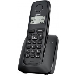 Радіотелефон DECT Gigaset A116 Black (S30852H2801S301)