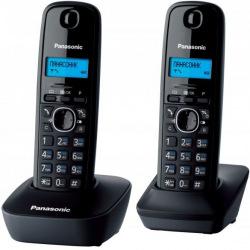 Радіотелефон DECT Panasonic KX-TG1612UAH Black Grey (KX-TG1612UAH)