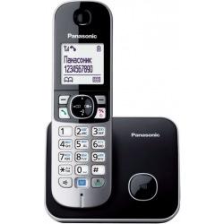 Радіотелефон DECT Panasonic KX-TG6811UAB, Black (KX-TG6811UAB)