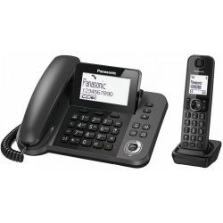 Радіотелефон DECT Panasonic KX-TGF320UCM Black (KX-TGF320UCM)
