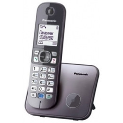 Радіотелефон DECT Panasonic KX-TG6811UAM, Metallic (KX-TG6811UAM)