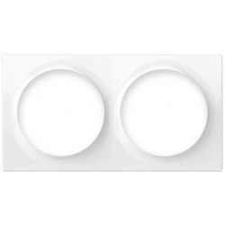Рамка для фурнитуры Fibaro Walli - на 2 пости, белая (FG-WX-PP-0003)