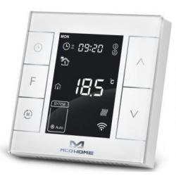 Умный термостат для управление электрическим теплым полом MCO Home, Z-Wave, 230V АС, 16А, белый (MH7H-EH-WHITE)