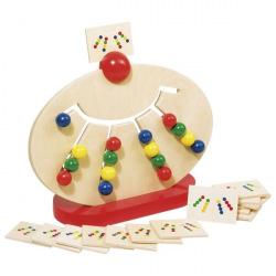 Розвивающая игра goki Разноцветные кульки  (58970G)