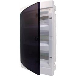 Щит пластиковый ETI ECM 12PT (внутренний, 1х12мод, дверь прозр, IP40) (1101011)