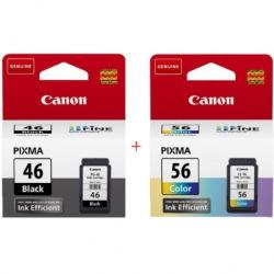 Canon PG 46 Black + Canon CL 56 Color Набор Картриджей (Set46)