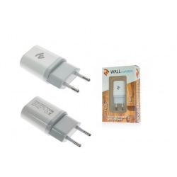 Сетевое зарядное устройство 2E USB 2A, White (2E-WCRT29-2W)