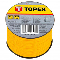 Шнур каменщика разметочный Topex, 1.5 мм, на катушке (13A910)