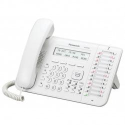 Системный телефон Panasonic KX-DT543RU White (цифровой) для АТС Panasonic (KX-DT543RU)