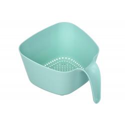 Сито-дуршлаг Ardesto Fresh, голубой тифани, пластик (AR1001TP)