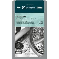 Средство Electrolux для очистки от накипи для стиральных и посудомоечных машин, 2 саше x 100 гр (M3GCP300)