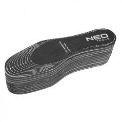 Устілка Neo для взуття з активованим вугіллям Actifresh - універсальний розмір - для обрізки під потрібний розмір, 10 шт. (82-30