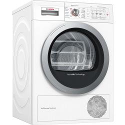 Сушильный барабан Bosch - 60 см/9кг/Heat-Pump/TFT дисплей/А++/белый (WTY87781OE)