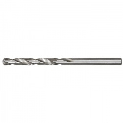 Свердло по металу 3.8 мм, поліроване, HSS, 10 шт, циліндричний хвостовик,  MTX (MIRI715389)