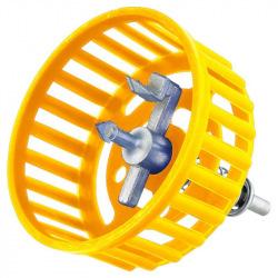 Сверло Topex для кафеля (балеринка) из защитой диаметр 40 - 100 мм (16B451)