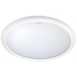 Светильник потолочный Philips 31817 LED 12W 2700K IP65 White (915004489501)
