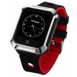 Телефон-годинник з GPS трекером GOGPS М02 чорні (M02BK)