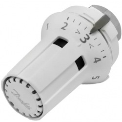Термоголовка Danfoss RAW-K 5030, встроенный датчик температуры, резьба М30 х 1.5, белая (013G5030)