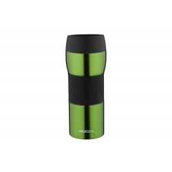 Термокружка Easy travel S Ardesto 450 мл, зеленый, силикон, нержавеющая сталь (AR2645STG)