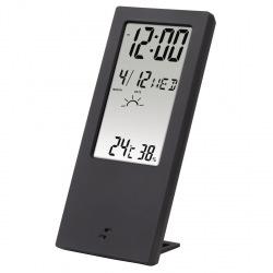 Термометр-гигрометр HAMA TH-140, с индикатором погоды, black (186365)