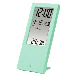 Термометр-гигрометр HAMA TH-140, с индикатором погоды, mint (176916)