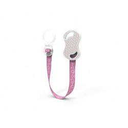 Тримач для пустушки Nuvita рожевий  (NV6070Pink)