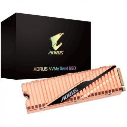 Твердотельный накопитель Gigabyte SSD M.2 AORUS 500GB NVMe PCIe 4.0 4x 2280 (GP-ASM2NE6500GTTD)