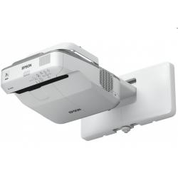 Ультракороткофокусный интерактивный проектор Epson EB-680Wi (3LCD, WXGA, 3200 Lm) (V11H742040)