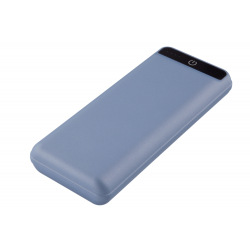 Универсальная мобильная батарея 2E 2USB-2.1A&2.1A, 4 LED indicator, Soft, Blue 20000mAh (2E-PB2005A-BLUE) (2E-PB2005A-BLUE)
