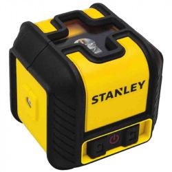 """Рівень Stanley лазерний крослайнер Stanley """"Cubix"""", червоний, далекосяжність 12м, похибка +/- 0,6 мм/10м (STHT77498-1)"""