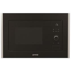 Микроволновая печь Gorenje встраиваемая BM201A4XG/20 л/800 Вт./ гриль/электронное.упр./дисплей/черная (BM201A4XG)
