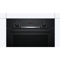 Духовой шкаф Bosch встраиваемый электрический - Ш-60 см./8 реж/66 л./дисплей/чорний (HBF534EB0Q)